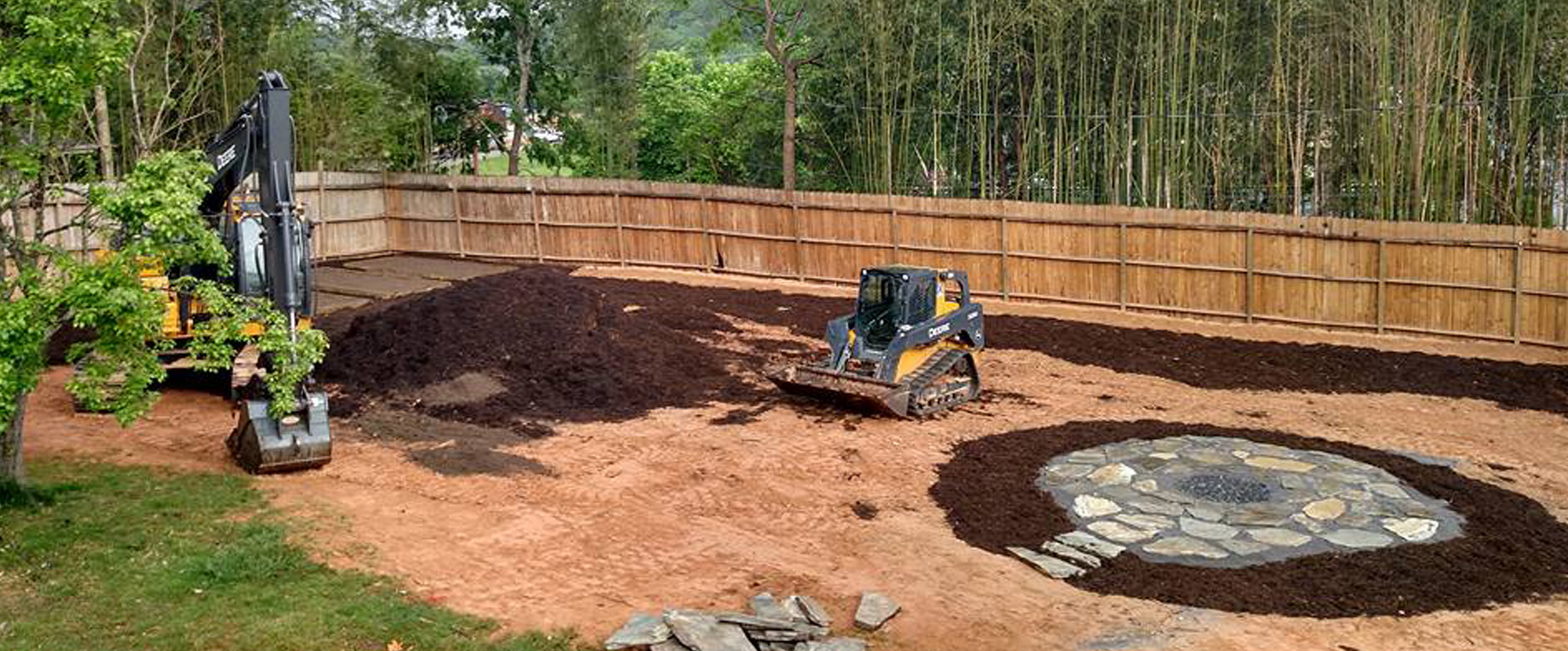 100 grading backyard cost dealing with negative slope