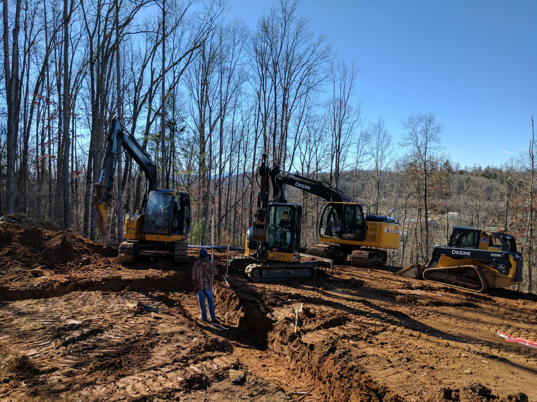 Excavating Weaverville, NC